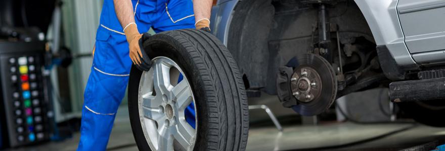 pneus de bonne qualité